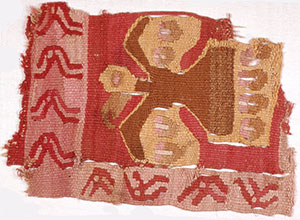 Cloth Colored with Cochineal Dye