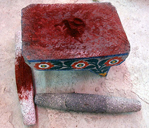 Cochineal on a Table. Click to see original photo by Travis S.